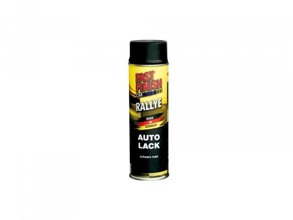 Fast Finish Car Autolack, schwarz, matt - 500ml,  10064983 - Bild 1