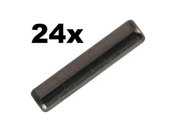 Set: 24x Lagernadel, 2,5x11,8, Abtriebs- und Antriebswelle - MZ  ETZ 250, 251, 301,  10069548 - Bild 1