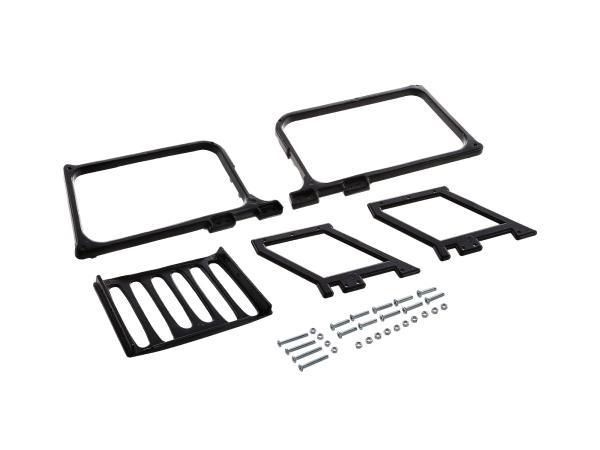10067005 Gepäckträger schwarz - für MZ ETZ250 - Bild 1