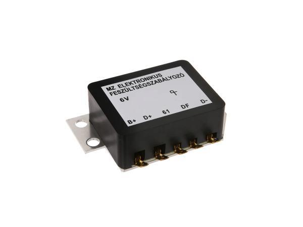 10003483 Spannungsregler - elektronisch 6V - MZ ES125, ES150, ES175, ES250, ES 300, TS125, TS150, TS250 - Bild 1