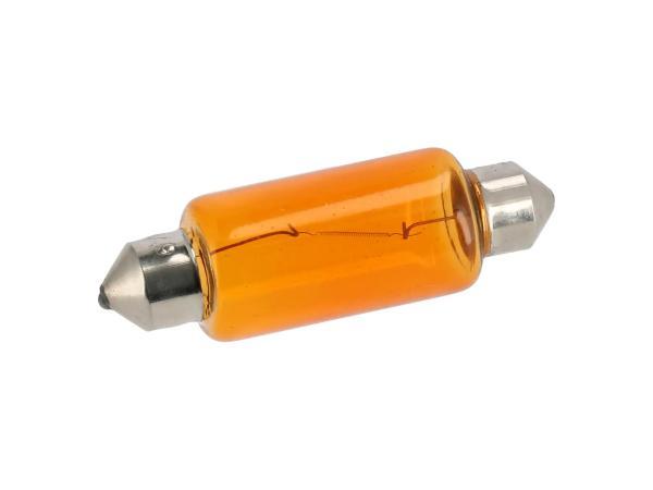 Soffitte 6V 18W orange, 15x44mm von VEBCO,  10070089 - Bild 1