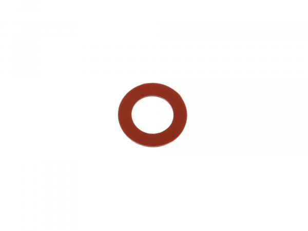 Gummi - Dichtscheibe 13,5x21x1 für Telegabel oben - für Simson S50, S51, S53, S70, SR50, SR80,  10001435 - Bild 1