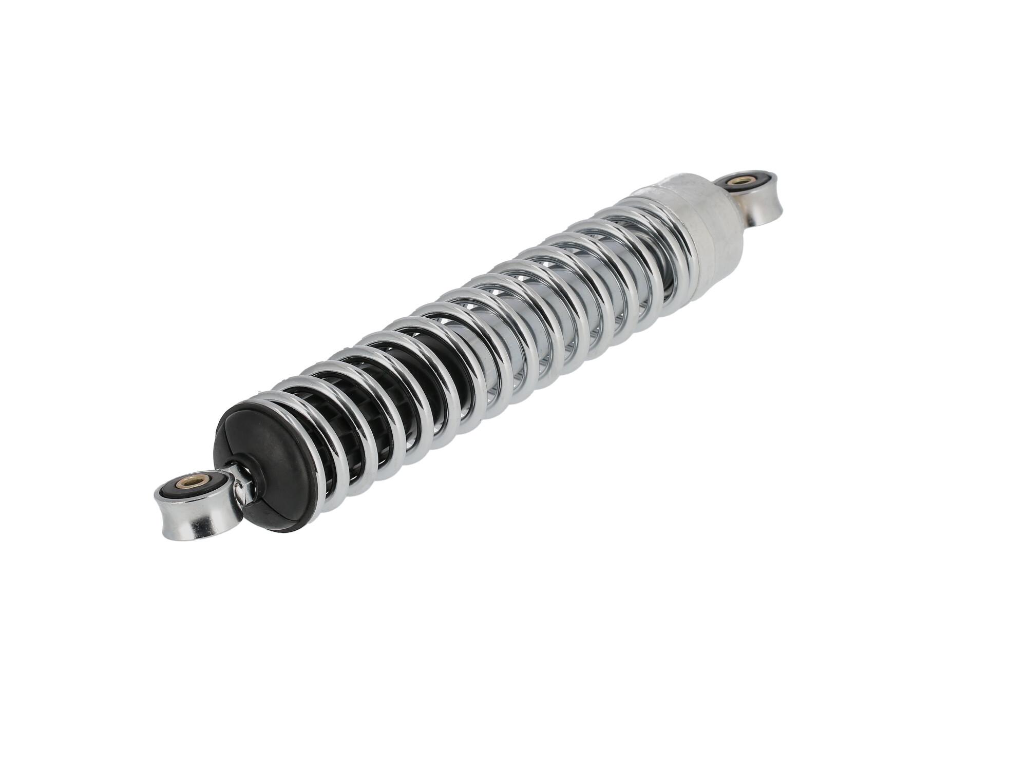 Set: Federbeine 360mm, Chromfeder, verstellbar - für Simson S50, S51, S70, S53, S83 Enduro, Art.-Nr.: 10016755 - 360° Bild