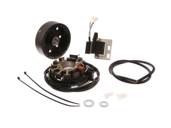 10067633 Lichtmagnetzündanlage 6V 18W mit integrierter vollelektronischer Zündung - Mofa SL1 - Bild 1