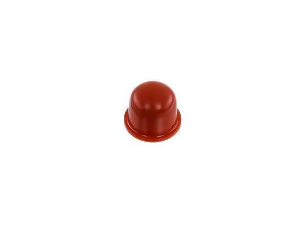 Stopfen, rot, Metall-Ansauggeräuschdämpfer - Simson KR51 Schwalbe, Duo 4/1, Duo 4/2,  10065763 - Bild 1