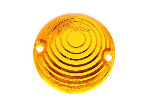 10067741 Blinkerkappe Ochsenauge, Orange - für Simson KR51 Schwalbe - MZ ES - IWL TR150 Troll - Bild 1