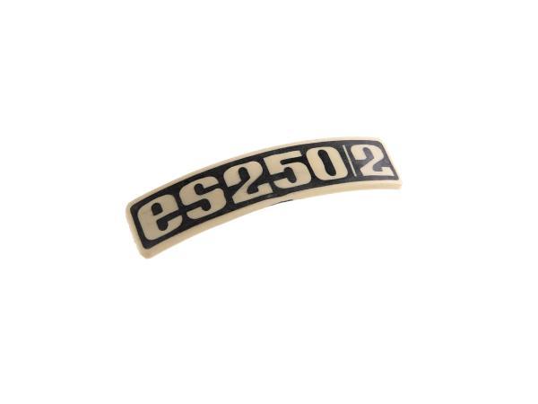 Typenschild - Plakette - Abzeichen für ES250/2 - Plastik,  10061666 - Bild 1