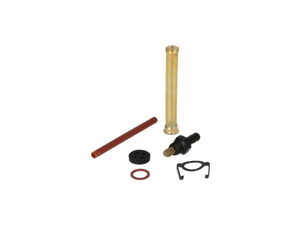 Set: Reparatur für DDR-Benzinhahn (Ø16mm, ohne Wassersack) - für Simson S50, S51, S53, S70, SR4-1 Spatz, SR4-2 Star, SR4-3 Sperber, SR4-4 Habicht,  10068776 - Bild 1