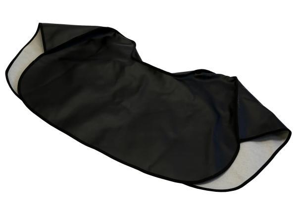 Knieschutzdecke schwarz, gefüttert - Simson S50, S51, S70,  10063190 - Bild 1