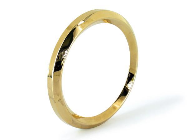 Tachoring Gold für Tacho S50, KR, SR4/2, SR4/4 (Ø48mm),  10063107 - Bild 1