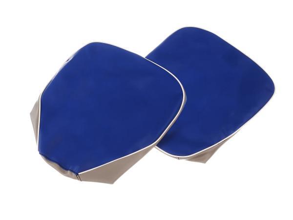 Set: 2x Sitzbezug blau-grau (für Einzelsitze) - für AWO-Sport,  10067628 - Bild 1