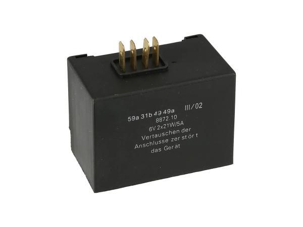 ELBA 6V 8871.10/1 - für Blinker 2 x 21W - Simson SR50,  10068686 - Bild 1