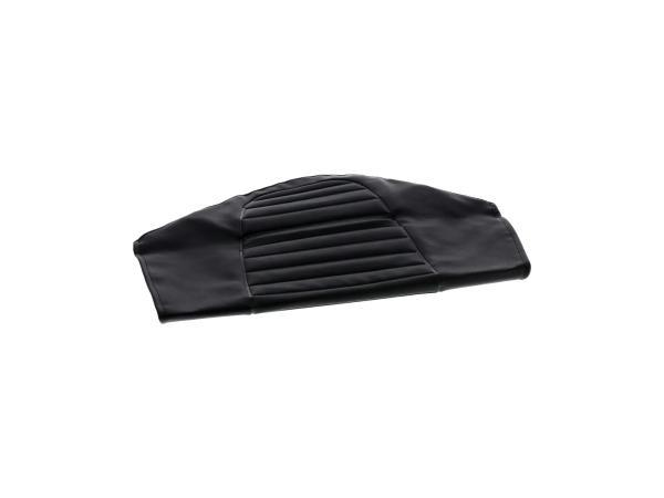 Sitzbezug strukturiert, schwarz, Ausführung ohne Werkzeugfach - für MZ TS250,  10030872 - Bild 1
