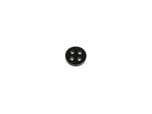 4-Loch-Dichtung für Benzinhahn, 16 mm - für Simson S50, S51, S53, S70, S83, SR4-2 Star, KR50, SL1, SR1, SR2,  10000325 - Bild 1