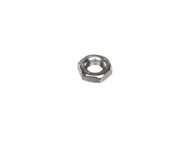 Sechskantmutter M10x1 niedrige Form, in Edelstahl - DIN936,  10002155 - Bild 1