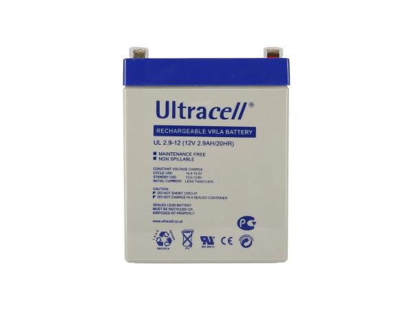 Batterie 12V 2,9Ah Ultracell (Gelbatterie),  GP10000566 - Bild 1