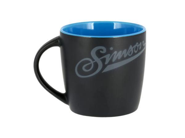 "Tasse ""Simson"" Schwarz / Blau,  10071110 - Bild 1"
