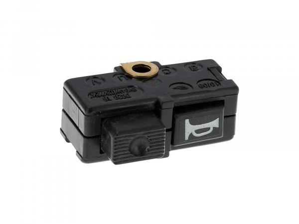 10039017 Einzeltaster für Signalhorn/Hupe zur Schalterkombination - Simson S51, S70, S53, S83, SR50, SR80 - MZ ETZ - Bild 1