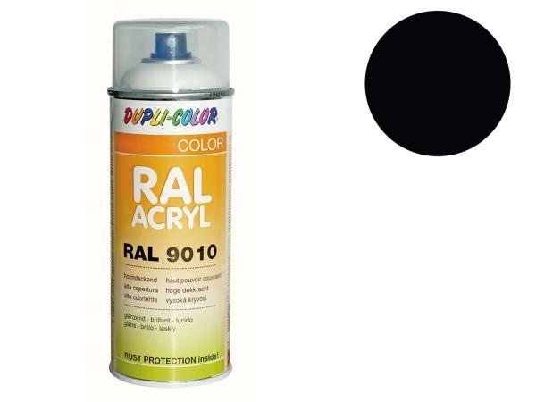Dupli-Color Acryl-Spray RAL 9005 tiefschwarz, glänzend - 400 ml,  10064879 - Bild 1