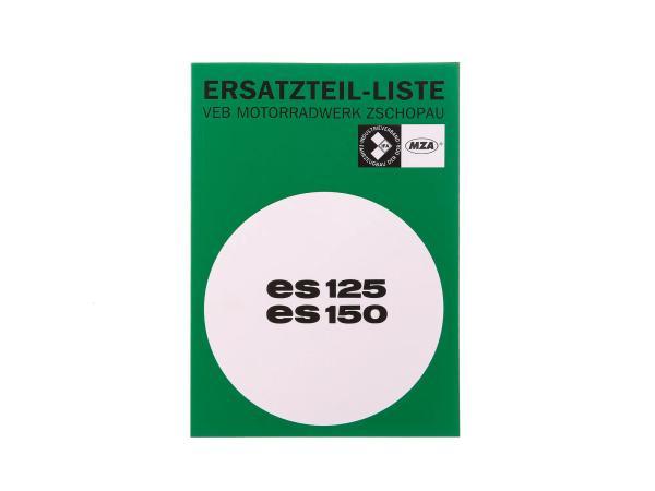 Ersatzteilkatalog Ausgabe 1968 - MZ ES125, ES150,  10066624 - Bild 1