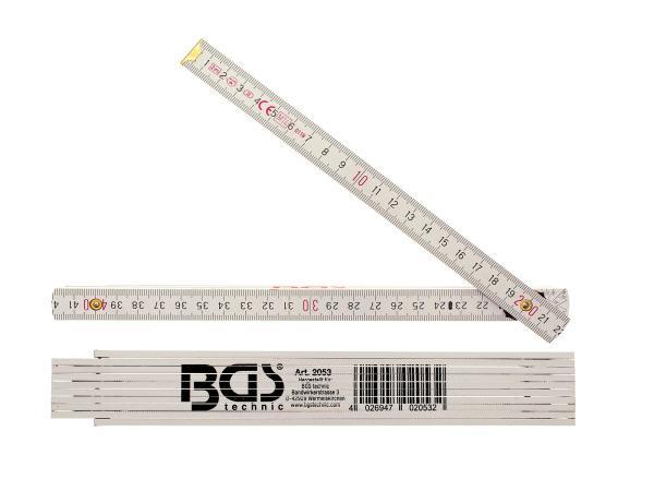 Gliedermaßstab, Holz - 2 Meter,  10070908 - Bild 1