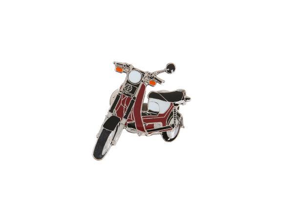SIMSON-Pin Roller SR50 in Bordeauxrot,  10066105 - Bild 1