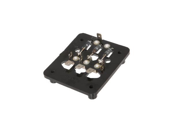 10005472 Isolierplatte - vollständig 8046.2-330 für Gleichrichter ETZ 125, 150, 250 - Bild 1