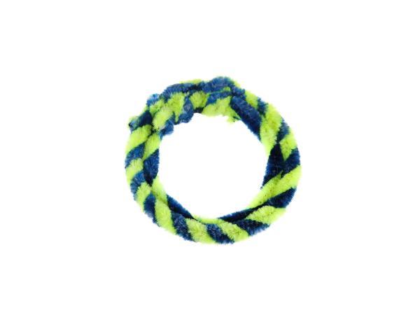 Nabenputzringe Blau/Neongelb (Set 1x 25cm + 1x 30cm für Fahrrad),  10057751 - Bild 1