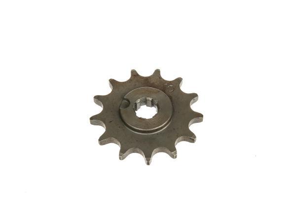 Ritzel, kleines Kettenrad, 13 Zahn - für Simson S50, KR51/1 Schwalbe, SR4-2 Star, SR4-3 Sperber, SR4-4 Habicht,  10000473 - Bild 1