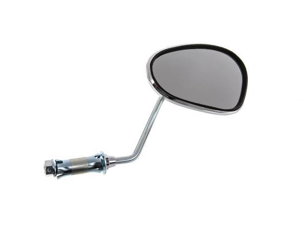 Spiegel rechts, Lenkerinnenbefestigung, kurzer Stab,  10002972 - Bild 1
