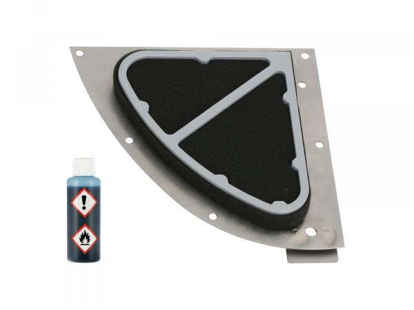 Sportluftfilter + 50ml Luftfilteröl - für Simson S50, S51, S53, S70, S83,  GP10000682 - Bild 1