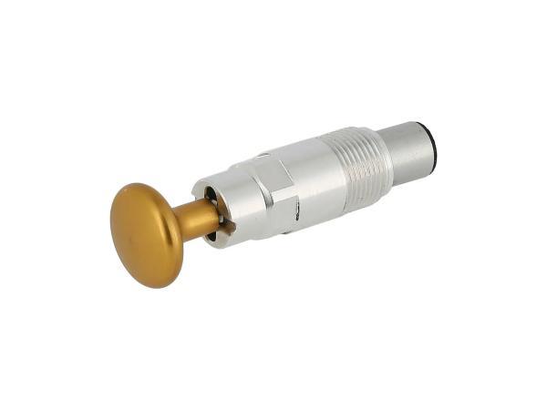 Starterkolben Tuning, mit Arretierung, Kopf Gold eloxiert,  10070465 - Bild 1