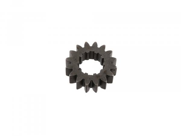 Festrad 16 Zahn, 2.Gang (4-Gang Motor) - Simson S51, KR51/2 Schwalbe,  10002311 - Bild 1
