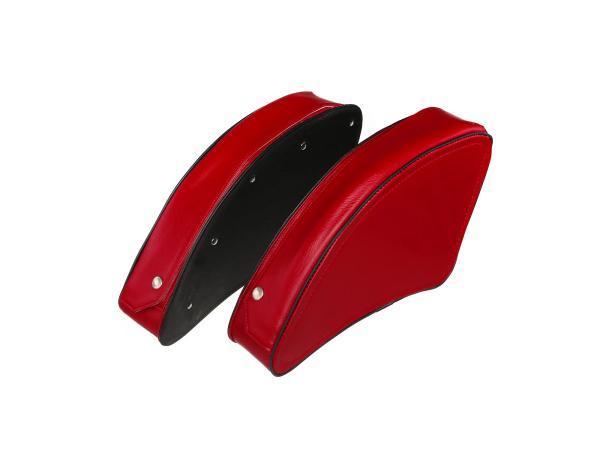10056033 Set: Packtasche Rot links/rechts - für MZ ES175, ES250, ES300 - Bild 1