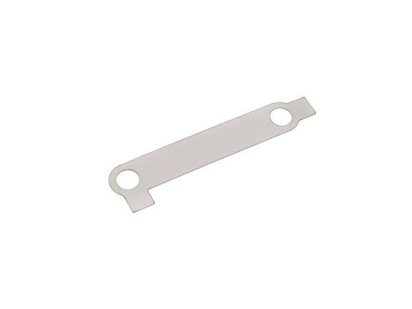 Sicherungsblech für Ansauggeräuschdämpfer - für Simson KR51,  10000896 - Bild 1