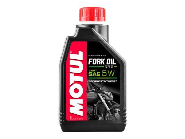 10055418 MOTUL Fork Oil Expert light Gabelöl 5W - 1 Liter - Bild 1
