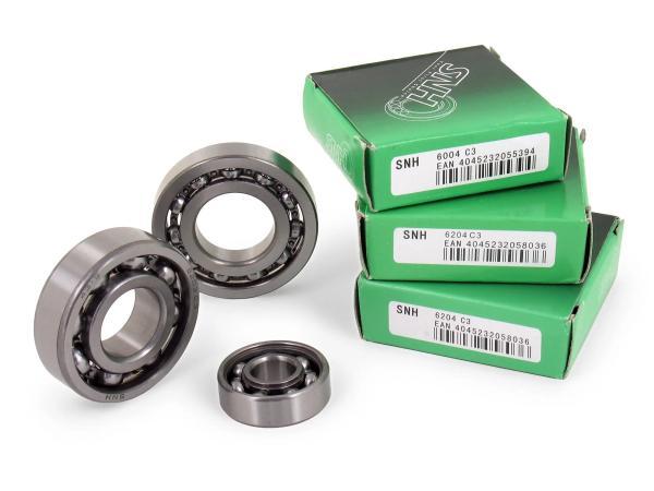 Set: Kugellager Motor M531-M754 - für Simson S51, S70, S53, S83, KR51/2 Schwalbe, SR50, SR80,  10060431 - Bild 1