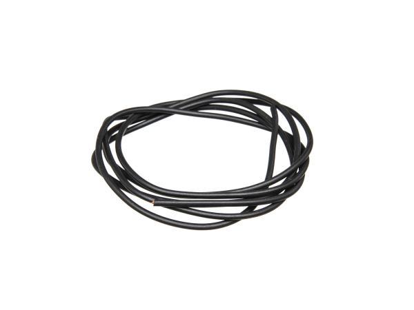 10001783 Kabel - Schwarz 0,50mm² Fahrzeugleitung - 1m - Bild 1