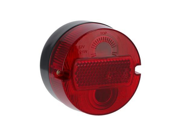 Rücklicht rund, komplett, Ø100mm - Simson S50, KR51/2 Schwalbe,  10069337 - Bild 1