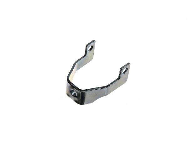 10000243 Halteschelle vorn für Hitzeschutz - für Simson S51, S70, S53, S83 Enduro - Bild 1