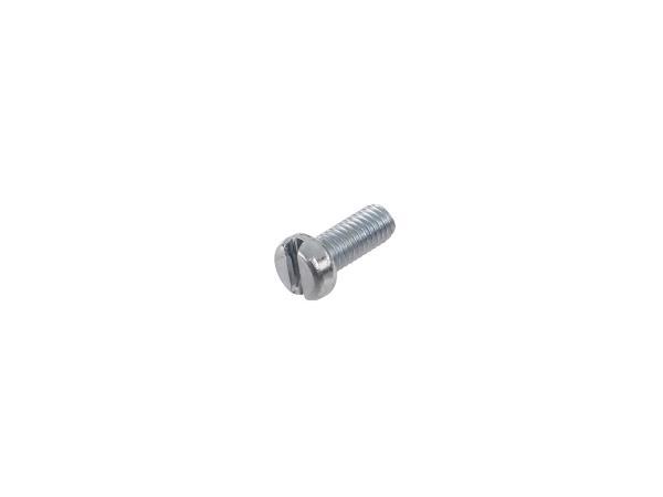 Zylinderschraube, Schlitz M5x12 - DIN84,  10000822 - Bild 1