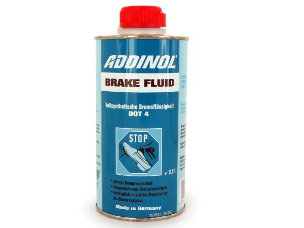 10003034 ADDINOL Brake Fluid DOT4 - Bremsflüssigkeit - 0,5l - Bild 1