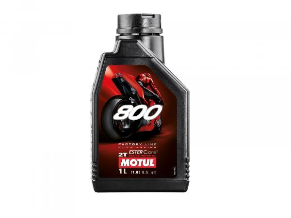 MOTUL - 800 Motoröl 2T -1 Liter - Road Racing,  10016667 - Bild 1