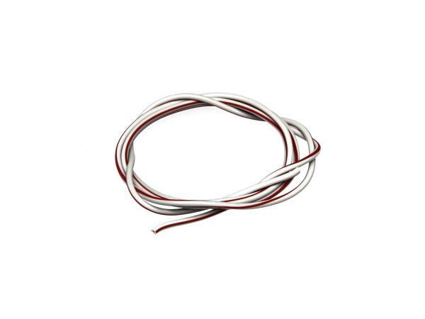 10001778 Kabel - Grau/Rot 0,50mm² Fahrzeugleitung - 1m - Bild 1