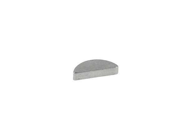 Scheibenfeder 2 x 3,7 Halbmond f. Schwungscheibe (Polrad) - Zündungsseite - Simson,  10002170 - Bild 1