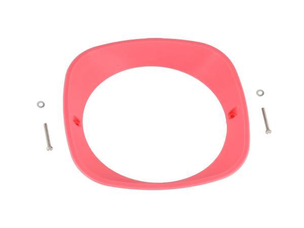 10070942 Scheinwerferring 3D, Rosa - für Simson KR51 Schwalbe, SR4-2 Star, SR4-3 Sperber, SR4-4 Habicht - MZ ES125, ES150 - IWL TR150 Troll - Bild 1