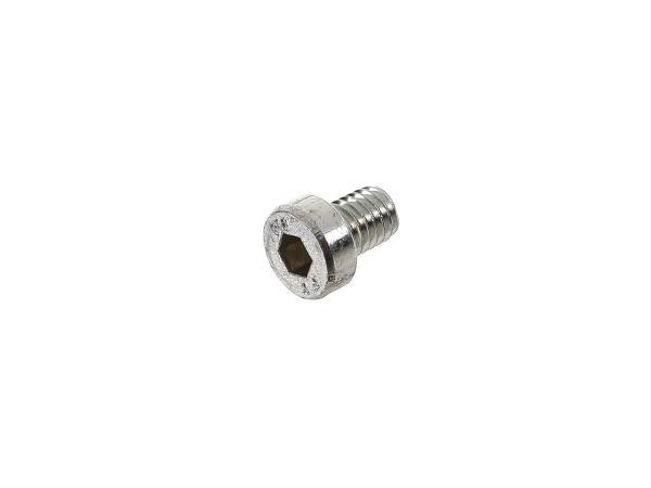 10014418 Zylinderschraube Innensechskant, niedriger Kopf M6x8 - DIN7984 - Bild 1