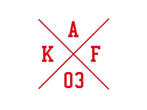 """10069150 Aufkleber - """"Kreuz AKF 03"""" Folienplot Rot, mit Übertragungsfolie - Bild 1"""