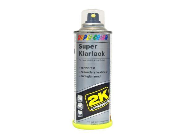 Dupli-Color 2K Super Klarlack-Spray, hochglänzend - 160 ml,  10064922 - Bild 1