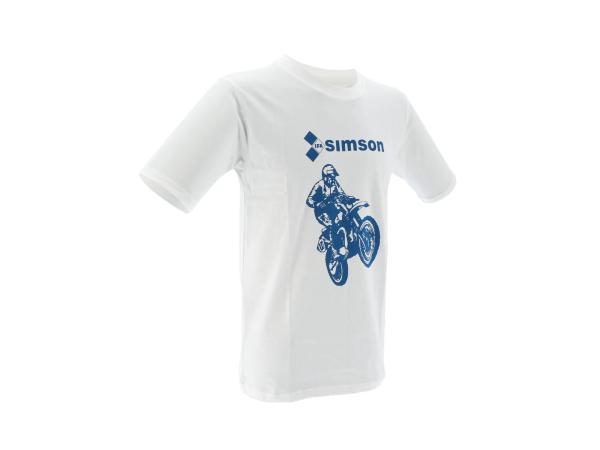 """K10000136 T-Shirt """"SIMSON Cross"""" - Weiß - Bild 1"""